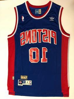 Men's Detroit Pistons #10 Dennis Rodman Jersey