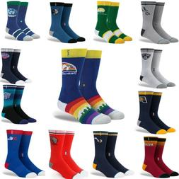 Stance Mens NBA Arena Logo Socks Classic Pique S M L