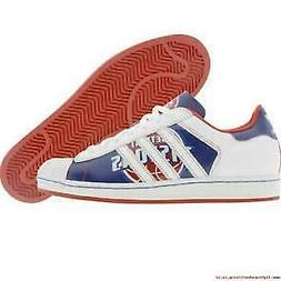 Adidas Mens Superstar Detroit Pistons NBA Series Red Blue Sn