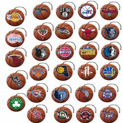 NBA 3 pack Air Freshener Team Logo on Basketball NuCar ProMa
