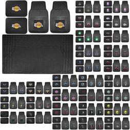 NBA Basketball Licensed Rubber Floor Mats UAA Cargo Mat Univ