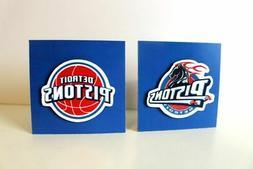 NBA Detroit Pistons basketball sports collectible fridge mag