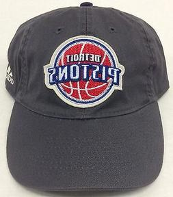 NBA Detroit Pistons Adidas Buckle Back Cap Hat Beanie Style