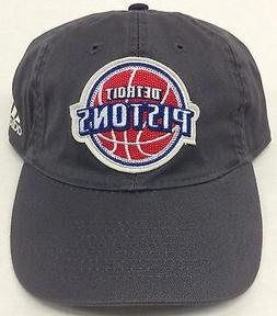 NBA Detroit Pistons Adidas Buckle Back Cap Hat Beanie Style