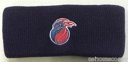 NBA Detroit Pistons Reebok Knit Headband Ear Warmer NEW!