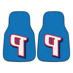 FANMATS NBA Detroit Pistons Nylon Face Carpet Car Mat