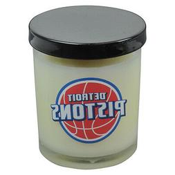 NBA Detroit Pistons Scented 3 Inch Glass Candle Basketball G