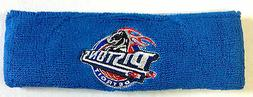 NBA Detroit Pistons Reebok Sweat Headband NEW!