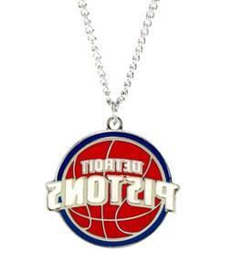 NBA Detroit Pistons Team Logo Necklace