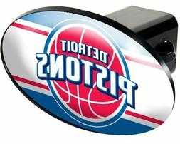 NBA Detroit Pistons TOW HITCH COVER car/truck/suv trailer 2""