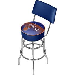 NBA New York Knicks Hardwood Classics Bar Stool with Back, O