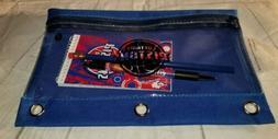 NBA Notepad Pen & Pencil Detroit Pistons Blue Back to School