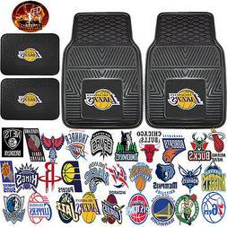 NBA Universal Black Rubber Floor Mats & UAA Basketball Vinyl
