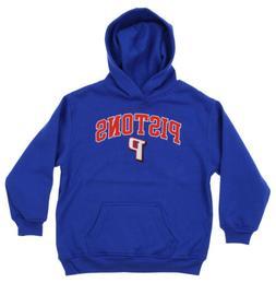 OuterStuff NBA Youth Detroit Pistons Fleece Pullover Hoodie,