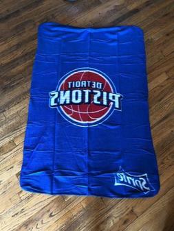 NEW Detroit Pistons Basketball Fleece Throw Blanket