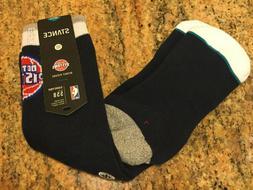 NEW Stance NBA Detroit Pistons ARENA Logo Crew Classic Socks