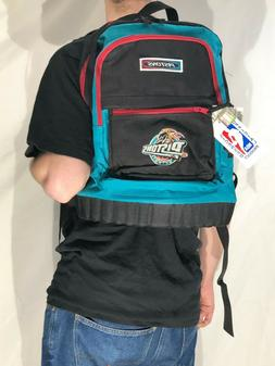 NWT vintage 90s Detroit Pistons Throwback logo backpack offi