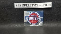 Official Detroit Pistons Logo  NBA Basketball Patch Emblem e