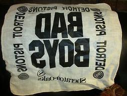 Rare 1989 DETROIT PISTONS NBA Playoffs BAD BOYS SGA White Cl