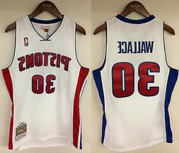 Rasheed Wallace Detroit Pistons Mitchell & Ness NBA 2003-200