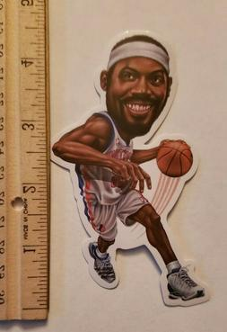 RASHEED WALLACE DETROIT PISTONS NBA LARGE VINYL STICKER INDD