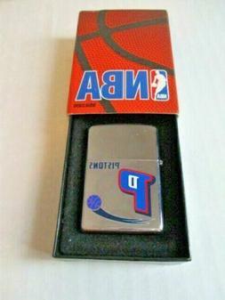 Retired NBA Detroit Pistons Basketball Zippo Lighter …