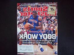 Sports Illustrated Magazine Ben Wallace Detroit Pistons