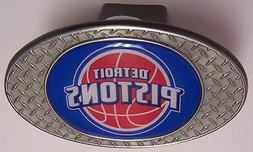 Trailer Hitch Cover NBA Basketball Detroit Pistons NEW Diamo