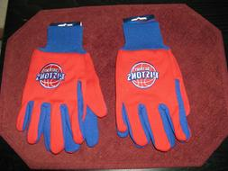 TWO  PAIR OF DETROIT PISTONS, SPORT UTILITY GLOVES FROM FORE