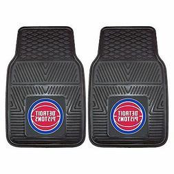 Universal Heavy Duty Fan Floor Mat Front - NBA-Detroit Pisto