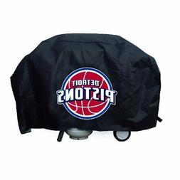 VINYL GRILL COVER Detroit Pistons  68x21x35 FITS MOST LARGE