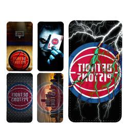 wallet case Detroit Pistons galaxy S7 S8 S8plus S9 S9plus S1